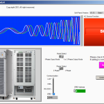 AC Source Function, Step control soft panel image