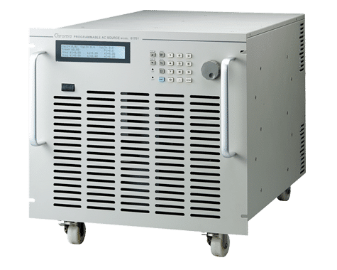 Chroma 61605 programmable ac source 4kva | tequipment.