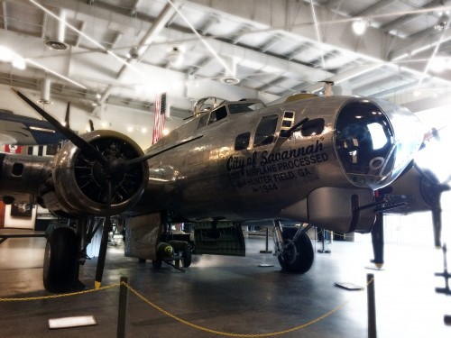 B-17 'City of Savannah' Restoration Project