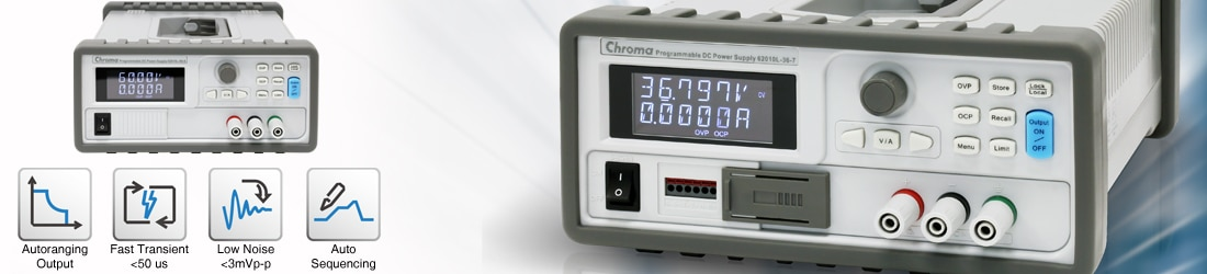 Programmable Benchtop DC Power Supply - 62000L - from Chroma