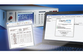 medical device test - captivate automation software